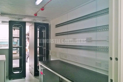 Electrical Control and Monitoring Containers Newcastle