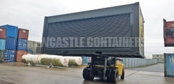 Container Roller Shutters Newcastle